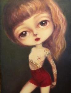 Pintura de Manuela Torres. Más sobre su trabajo en www.manuelatorresgarcia.com